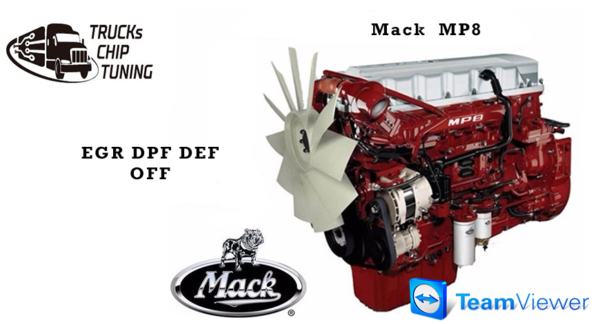 MACK MP8 EGR DPF DEF OFF